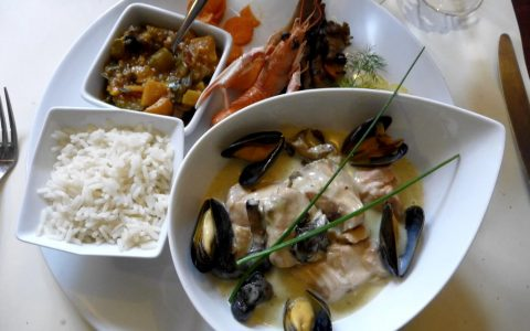 french restaurant food